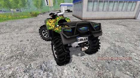 Can-Am Outlander 1000 XT for Farming Simulator 2015
