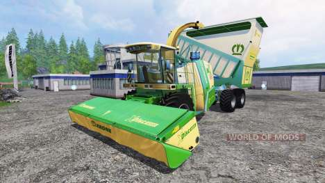 Krone Big X 650 Cargo v1.0 for Farming Simulator 2015