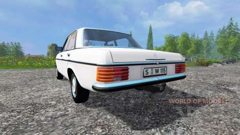 Mercedes-Benz 200D (W115) 1973 for Farming Simulator 2015