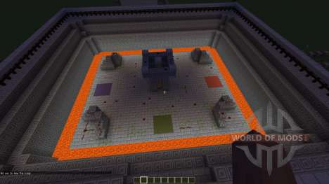 4 Player Arena Holds Up To 5 for Minecraft