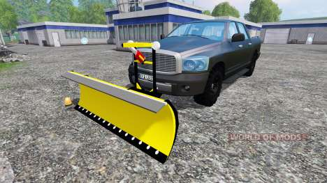 Dodge Pickup [snowplow] v2.1 for Farming Simulator 2015