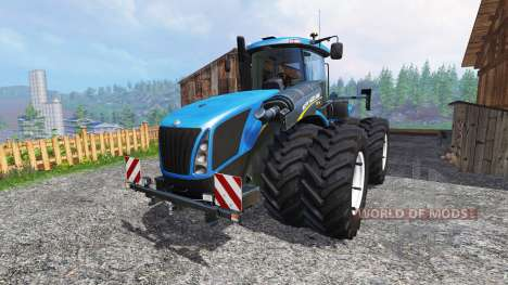 New Holland T9.700 [dual wheel] v1.1.2 for Farming Simulator 2015