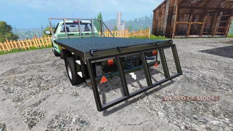 PickUp Flatbed for Farming Simulator 2015