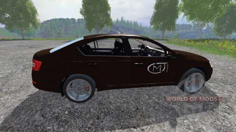Skoda Octavia III for Farming Simulator 2015