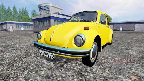 Volkswagen Beetle 1973 for Farming Simulator 2015