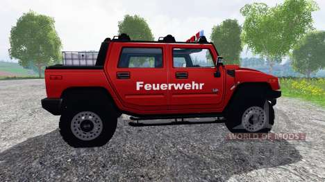 Hummer H2 [firefighters] for Farming Simulator 2015