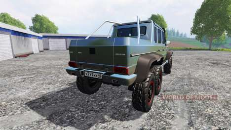 Mercedes-Benz G65 AMG 6x6 [modifed] for Farming Simulator 2015