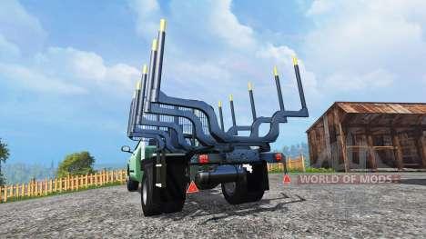 PickUp [log truck] v1.1 for Farming Simulator 2015