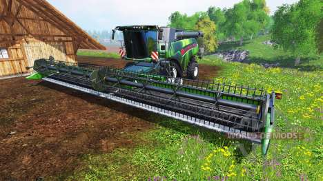 New Holland CR10.90 [hardcore] v2.0 for Farming Simulator 2015