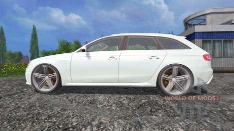 Audi RS4 Avant for Farming Simulator 2015