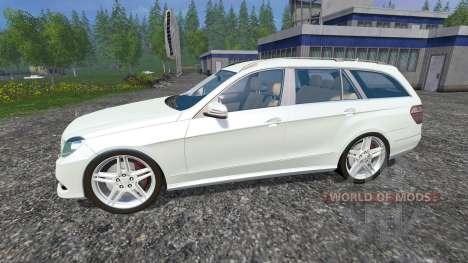 Mercedes-Benz E350 CDI Estate for Farming Simulator 2015
