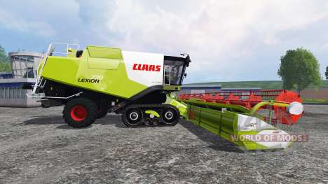 CLAAS Lexion 770TT v1.3 for Farming Simulator 2015