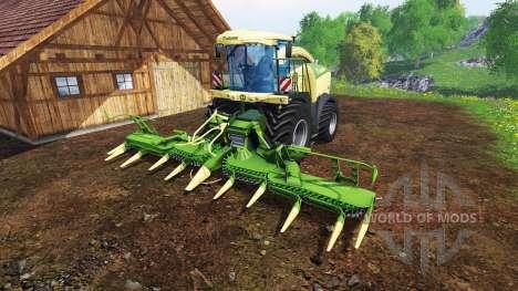 Krone Big X 580 for Farming Simulator 2015