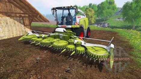 CLAAS Jaguar 980 v2.2 for Farming Simulator 2015