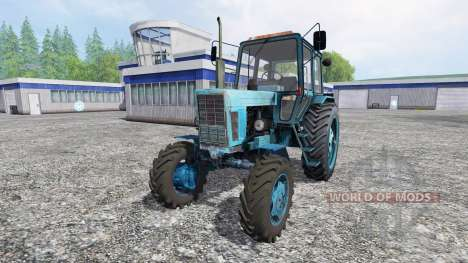 MTZ-102 for Farming Simulator 2015