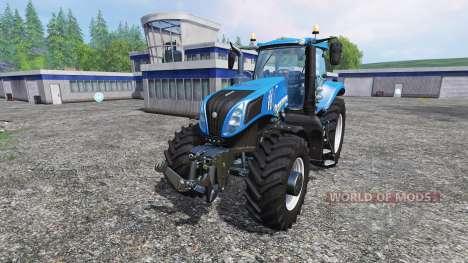 New Holland T8.435 v2.0 for Farming Simulator 2015