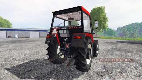 Zetor 5340 v2.0 for Farming Simulator 2015