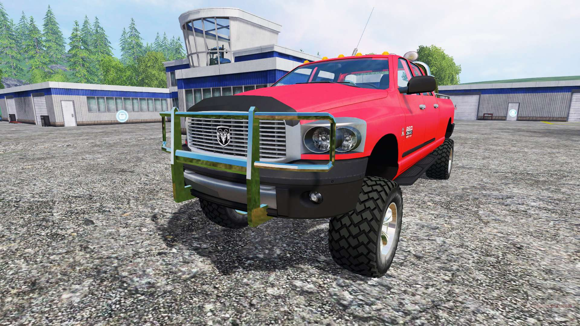 Dodge Ram 2500 Heavy Duty For Farming Simulator 2015