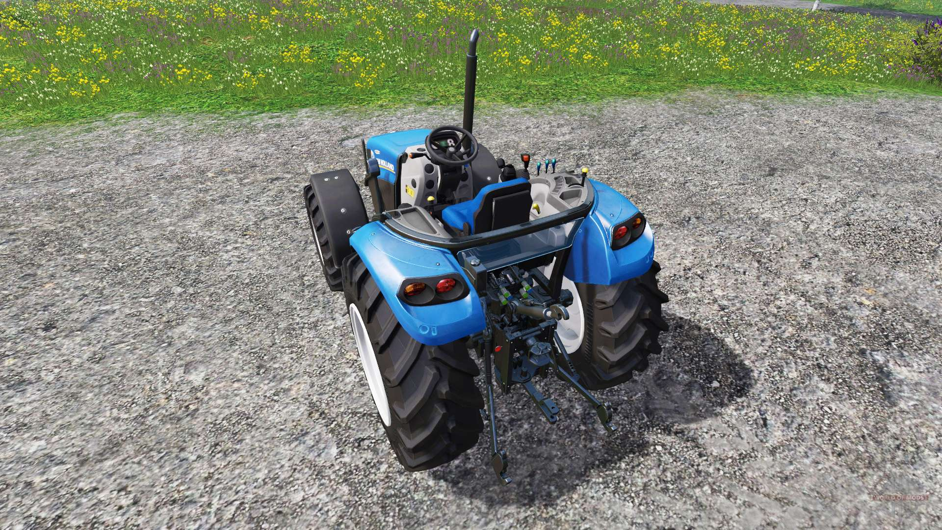 New Holland Tractor Roofs : New holland t no roof for farming simulator