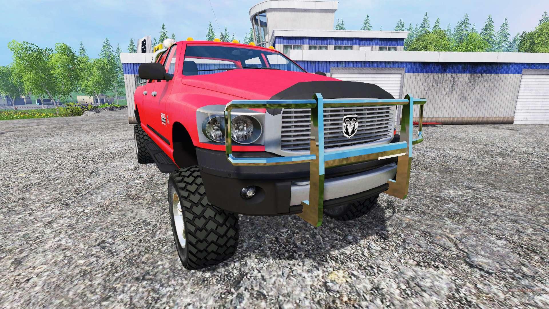 dodge ram 2500 heavy duty v1 1 for farming simulator 2015