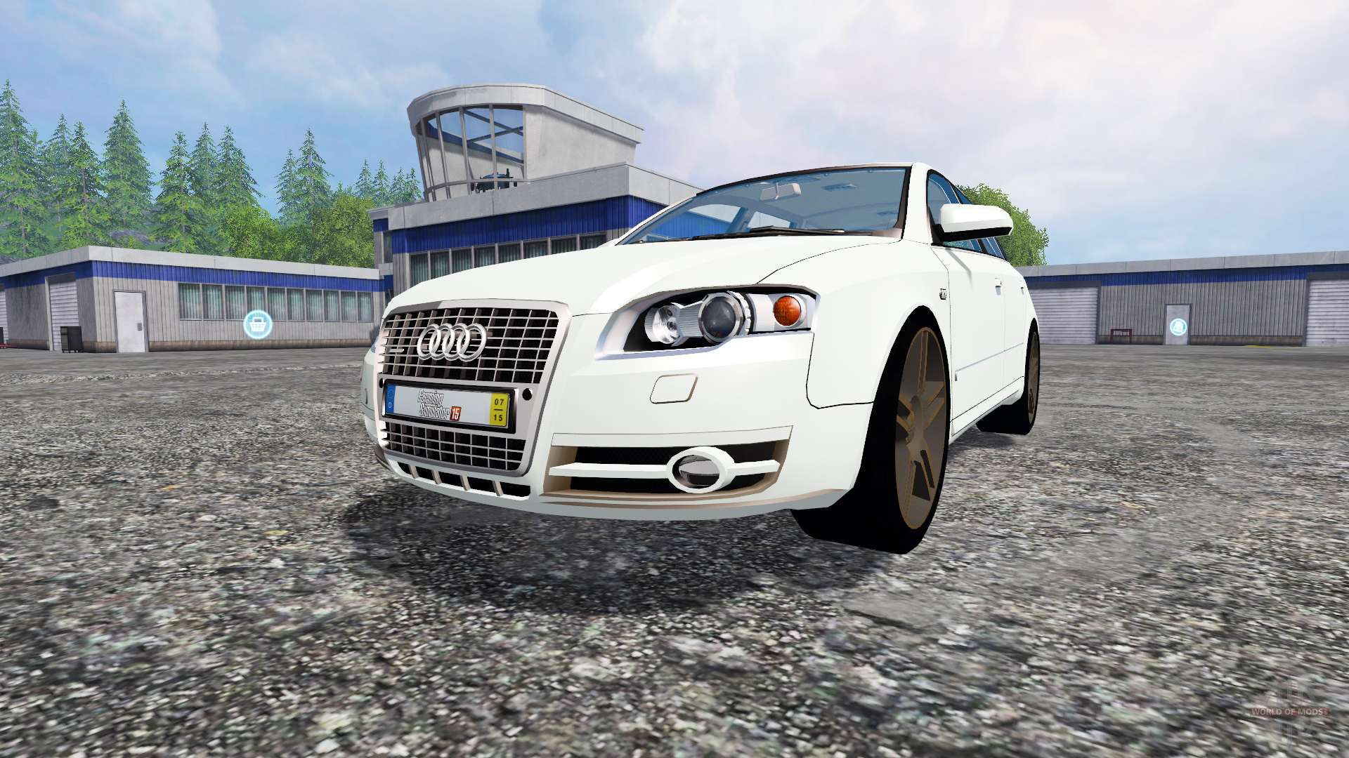 audi a4 avant quattro for farming simulator 2015. Black Bedroom Furniture Sets. Home Design Ideas