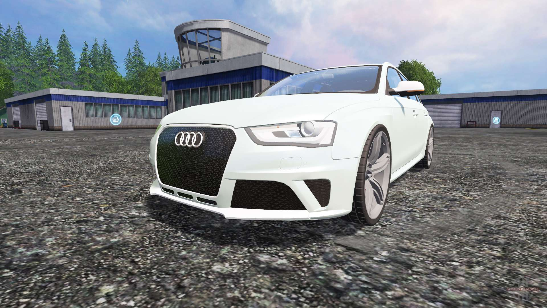 audi rs4 avant for farming simulator 2015. Black Bedroom Furniture Sets. Home Design Ideas