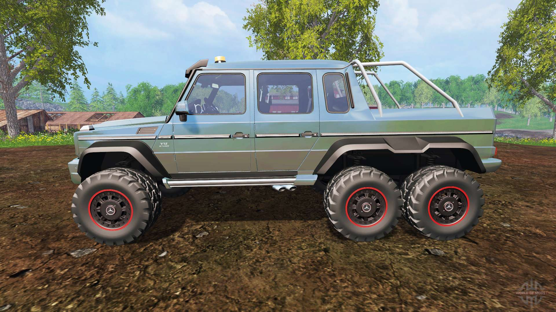 Mercedes-Benz G65 AMG 6x6 passion paysage for Farming ...