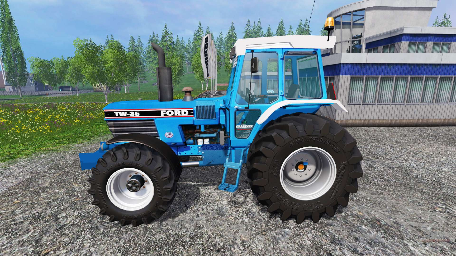 Ford Tw 35 Tractor Parts : Ford tw for farming simulator