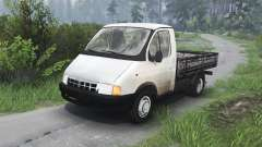 GAZ-3302 Gazelle v1.1 for Spin Tires