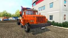 Ural 43202 v2.0 for Euro Truck Simulator 2