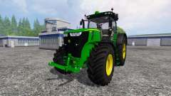 John Deere 7290R and 8370R v0.4 for Farming Simulator 2015