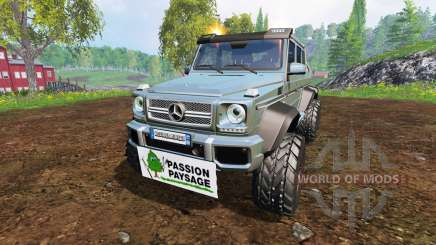 Mercedes-Benz G65 AMG 6x6 [passion paysage] for Farming Simulator 2015
