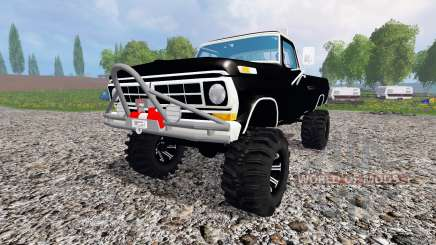 Ford F-250 Highboy 1972 v1.3 for Farming Simulator 2015