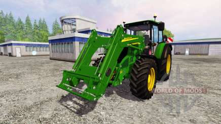 John Deere 6115M for Farming Simulator 2015