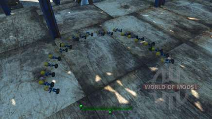 Cheat on the figures of the Pip-Boy for Fallout 4