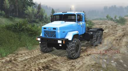 The KrAZ-63221 [23.10.15] for Spin Tires