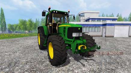 John Deere 6620 v0.8 for Farming Simulator 2015