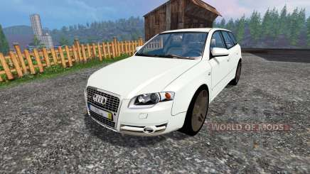 Audi A4 Avant Quattro v1.1 for Farming Simulator 2015