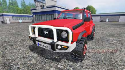 Nissan Patrol GR for Farming Simulator 2015