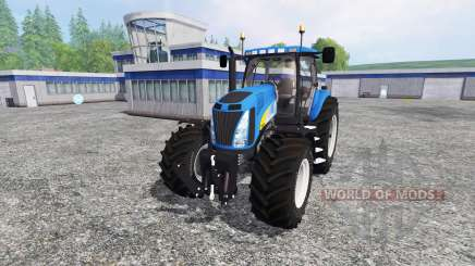 New Holland T8020 v4.0 for Farming Simulator 2015
