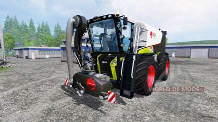 CLAAS Xerion 4000 SaddleTrac v1.5 for Farming Simulator 2015
