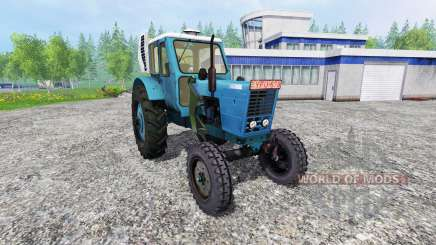 MTZ-50 LITERS with the console loader for Farming Simulator 2015