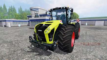 CLAAS Xerion 4500 v2.2 for Farming Simulator 2015