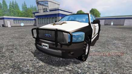 PickUp Sheriff for Farming Simulator 2015