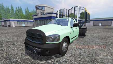PickUp [log truck] v1.1 for Farming Simulator 2015