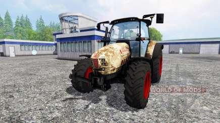 Hurlimann XM 4Ti camouflage v4.0 for Farming Simulator 2015