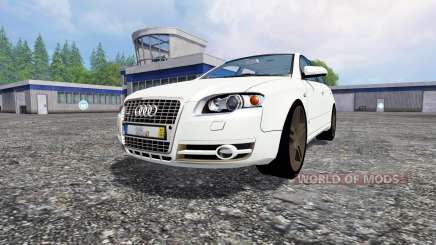 Audi A4 Avant Quattro for Farming Simulator 2015