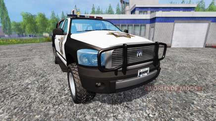 PickUp Sheriff v2.0 for Farming Simulator 2015