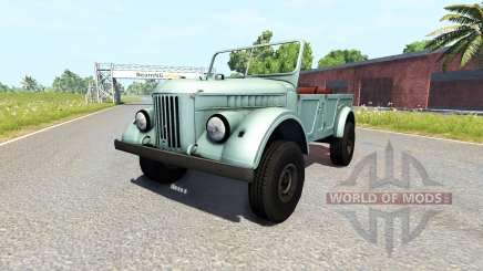 GAZ-69A for BeamNG Drive