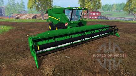 John Deere S 690i v2.0 for Farming Simulator 2015